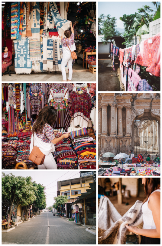 Shopping the markets of Guatemala with Ara Collective