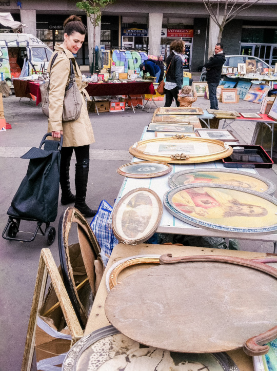 Chairish goes Shopping at the Savoy Flea Market in Paris.