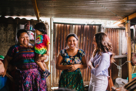 Ara Collective with friends in Guatemala