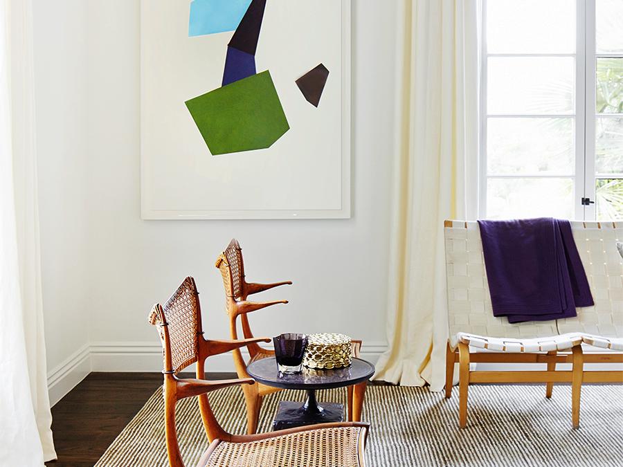 Interior design by Martha Angus, photo by Brad Knipstein