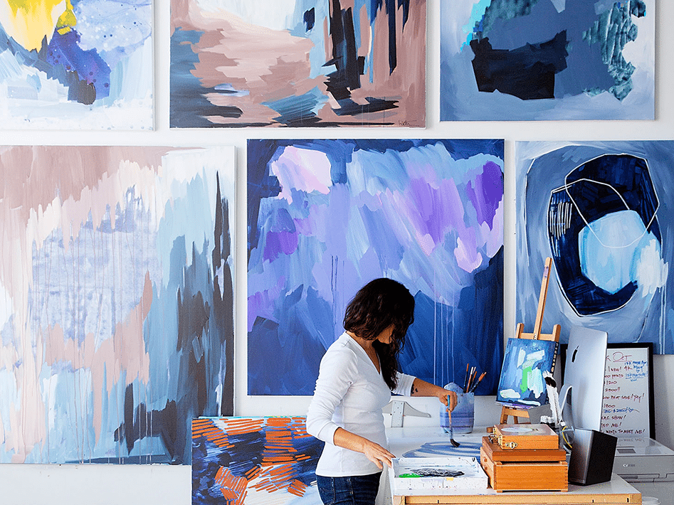 In the Studio with Linda Colletta