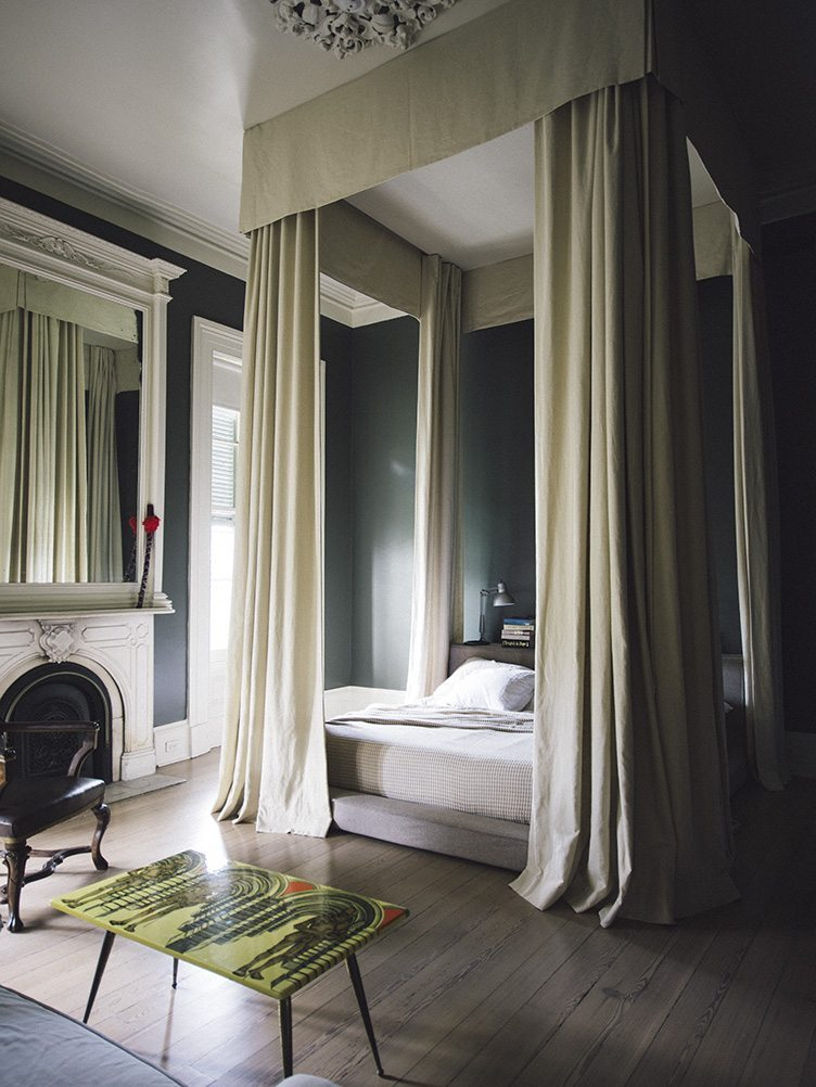 Sara Ruffin Costello New Orleans Canopy Bed