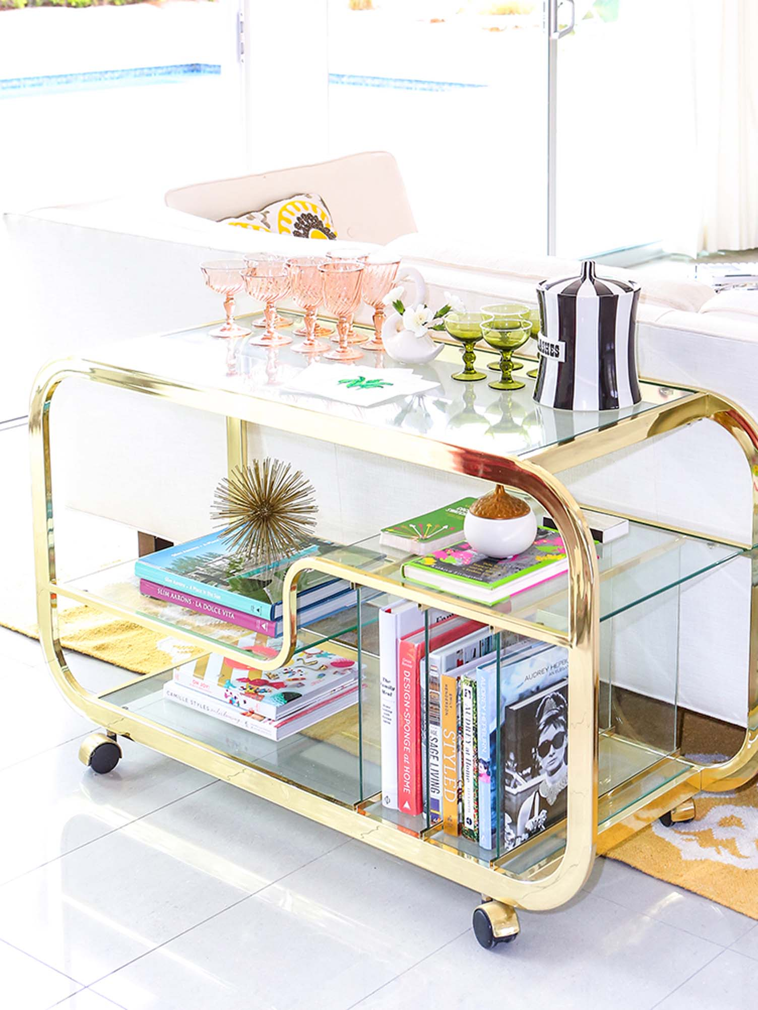 Kelly Golightly - Bar Cart_photo by Fred Moser