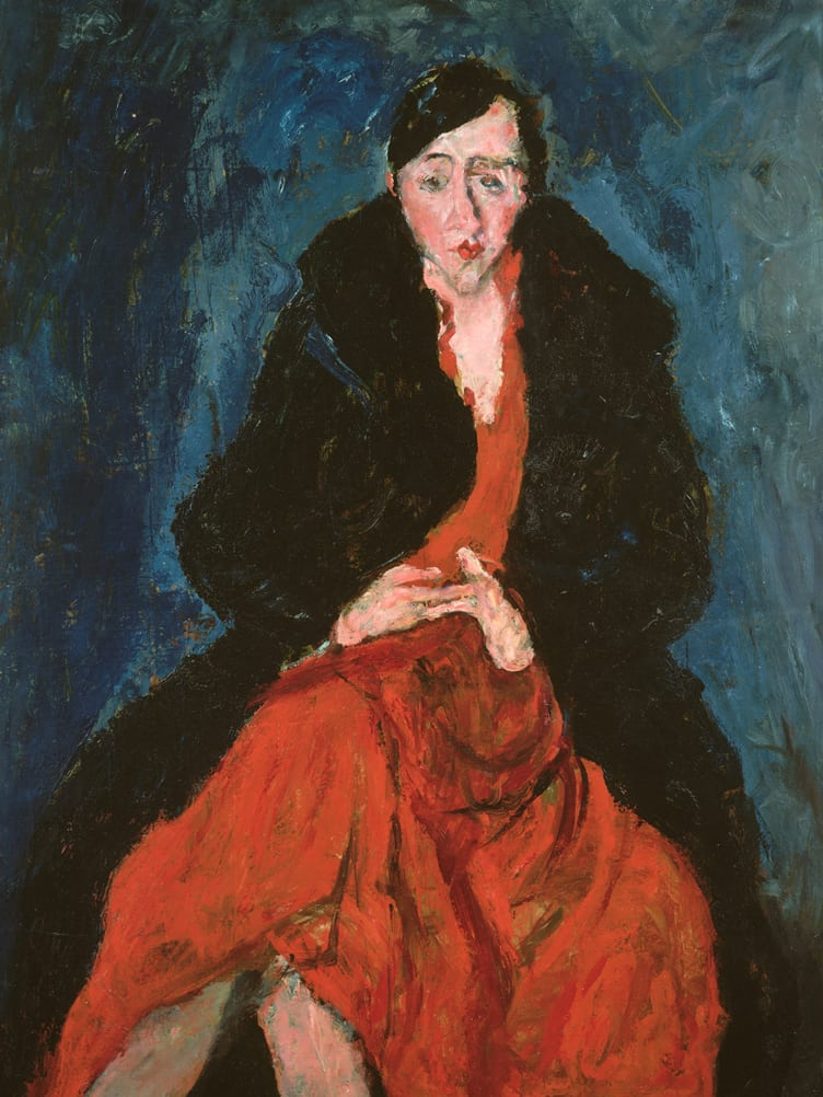 portraiture madeleine castaing chaim soutine french lithuania paris metropolitan museum
