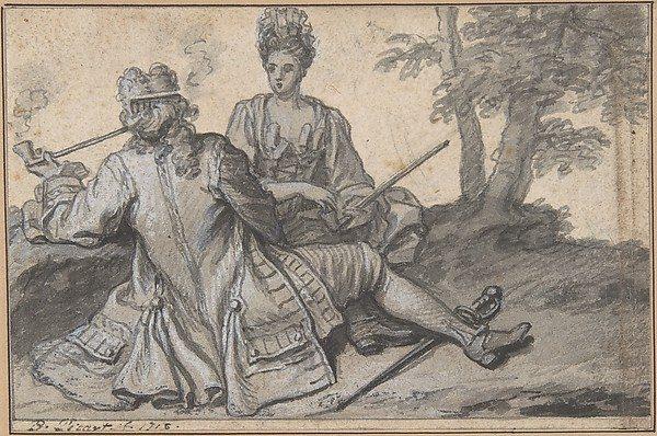 Sitting tête-à-tête Claude Simpol head-to-head