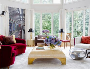 3 Unique Takes On The Modern Living Room