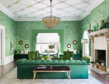 Tour a Fashion-Inspired Living Room