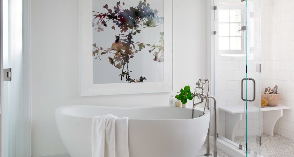 how to choose artwork for your master bath - Bathroom Art Ideas
