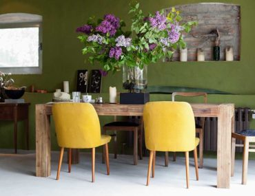 Decorating Duos: Dining Tables & Chairs