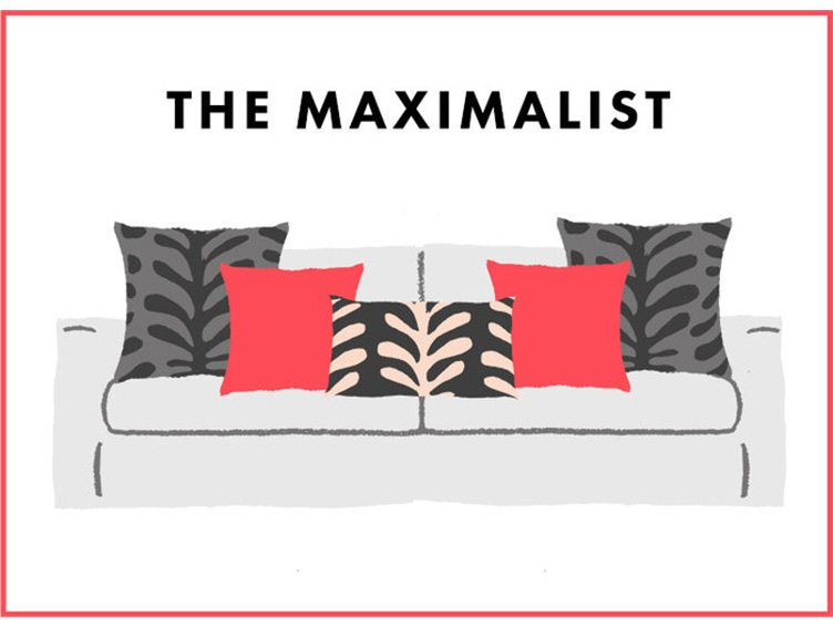 How to Arrange Sofa Pillows - The Maximalist