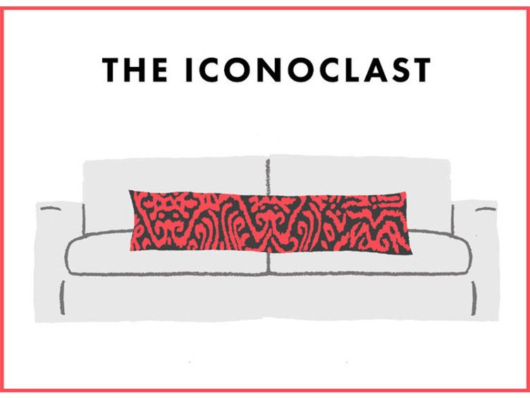 How to Arrange Sofa Pillows - The Iconoclast