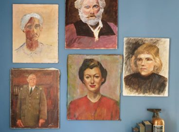 How to Decorate with Vintage Portraits