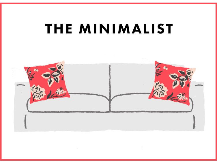 How to Arrange Sofa Pillows - The Minimalist