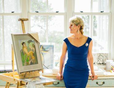 Step Inside A Charleston Painter's Sun-Soaked Studio