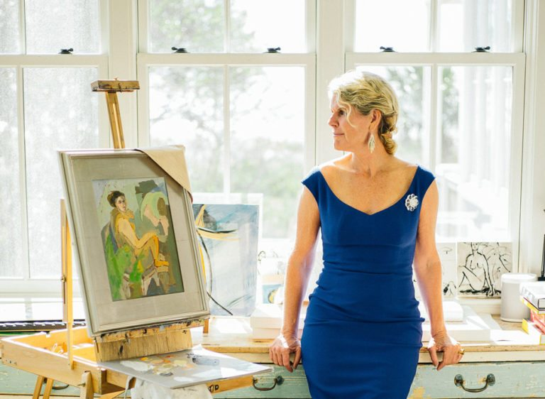 Step Inside A Charleston Painter's Sun-Soaked Studio