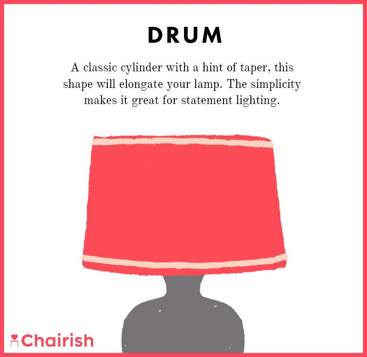 Your lampshade style guide has arrived chairish blog shop lamps with drum shades aloadofball Choice Image