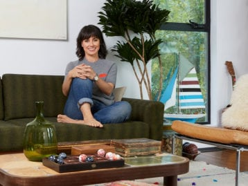 Constance Zimmer Home Tour