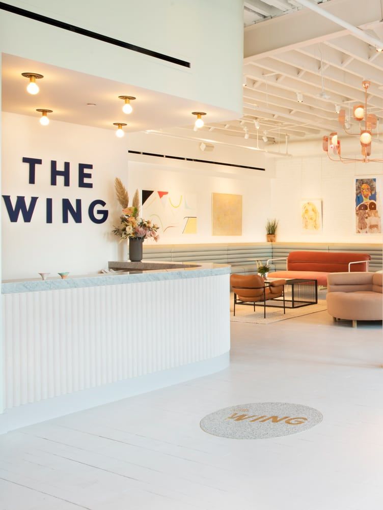 The Wing co-working space Chiara deRege female