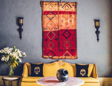 How to Hang a Rug as Wall Art