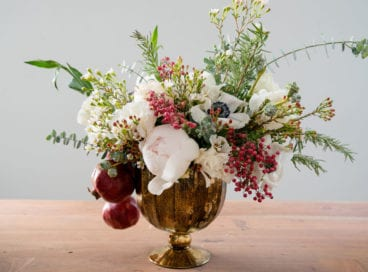 How-To: A Stunner of a Holiday Centerpiece
