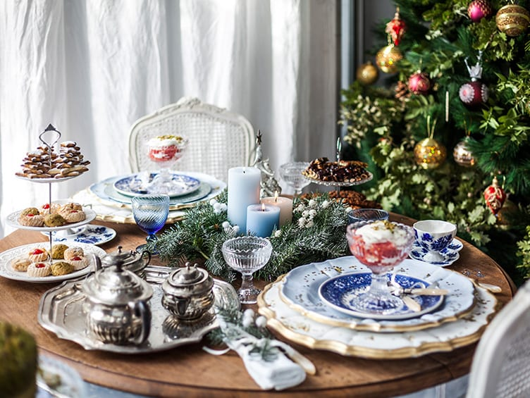holiday table setting ideas