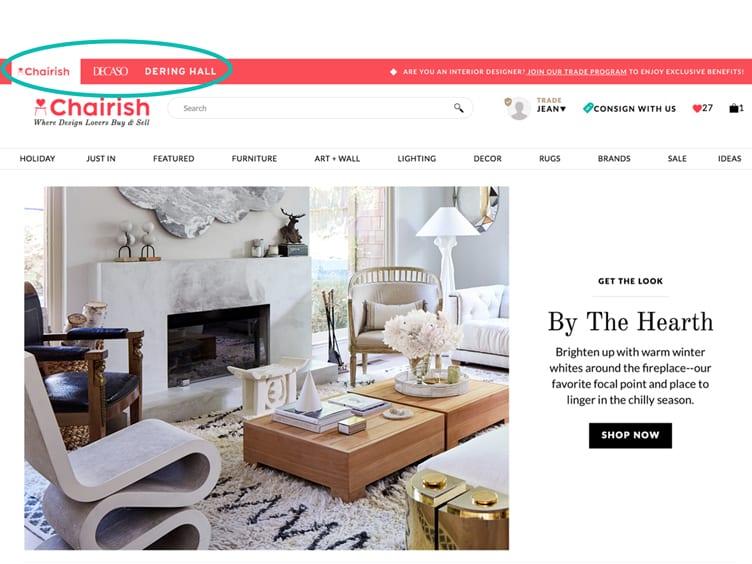 Chairish Inc. Acquires Derring Hall