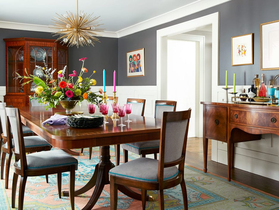 MA Allen's Raleigh, NC Home Is Chic AND Family-Friendly
