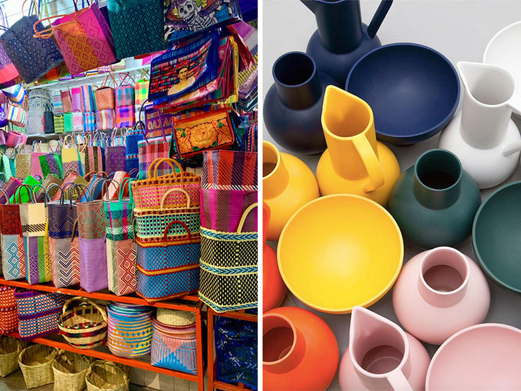 mexico city travel guide, shopping, flea markets, boutique stores, homewares