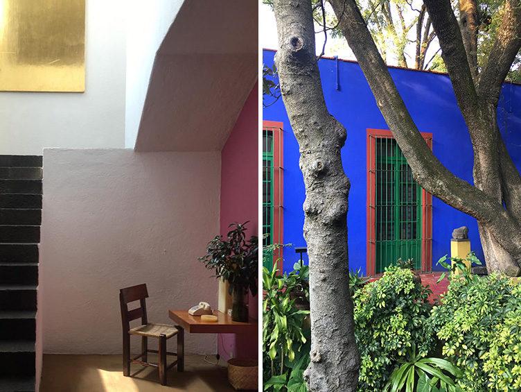 mexico city travel guide, luis barragan, frida kahlo, the blue house, museo frida kahlo