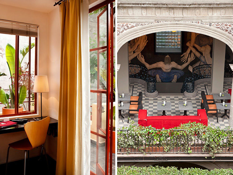 mexico city travel guide, hotel rooms, boutique hotels, the red tree house, hotel downtown