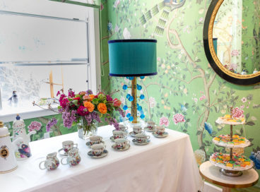 Inside Our Chic Tea with deGournay & JRD