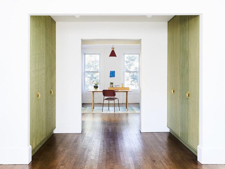 master bedroom office pendant lighting green cabinets