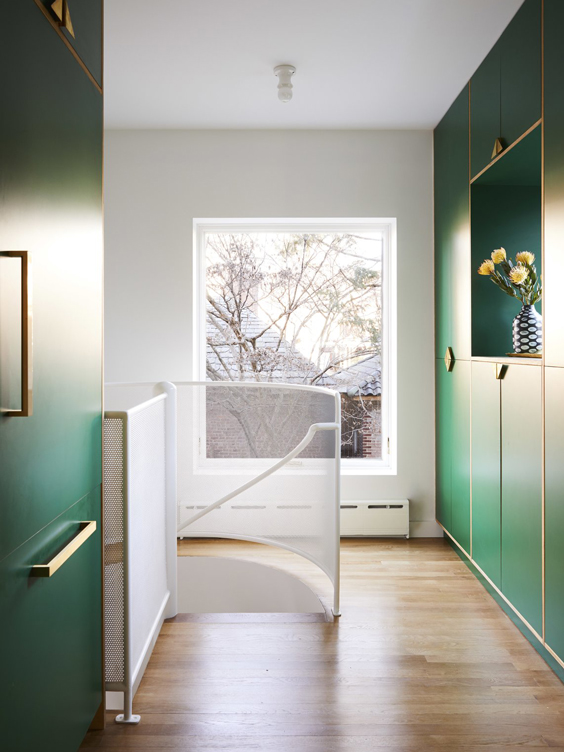 green cabinets pantry