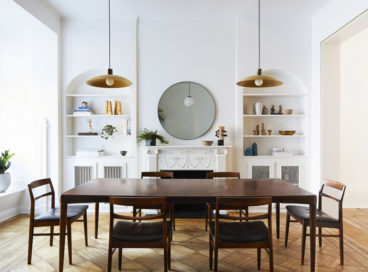 Tour a Historic Townhouse with Modern Accents