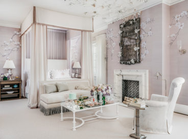A Master Bedroom Literally Fit For Royalty