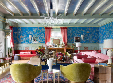 Inside a Jaw-Dropping, Maximal Living Room