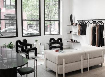 Inside A Sleepwear Line's Chic Space