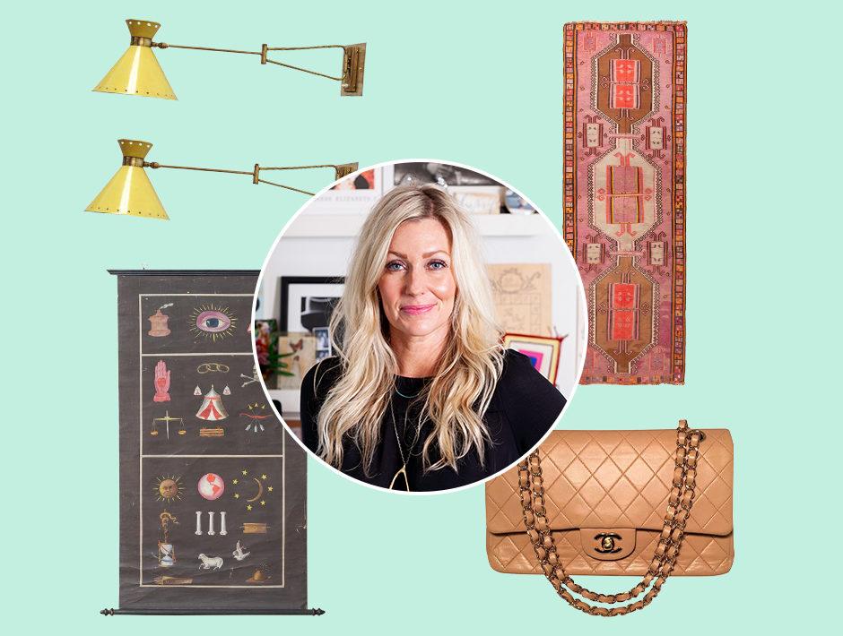 Nashville Designer Hannah Crowell Surrounded by her Chairish Design Favorites