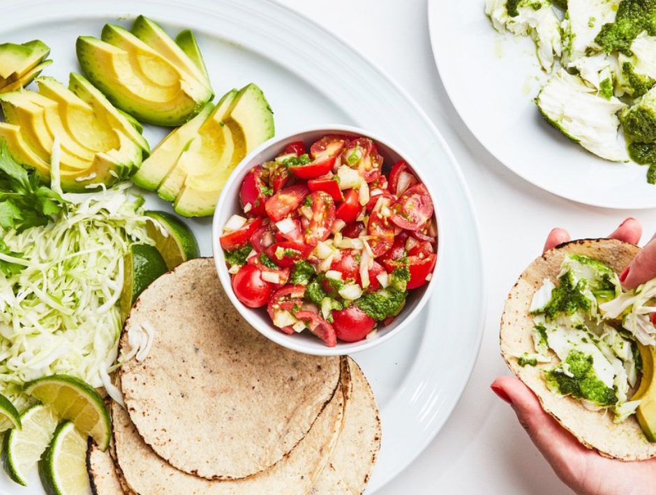 Bon Appetit Fish Tacos with Salsa Fresca and Guacamole On Our Radar