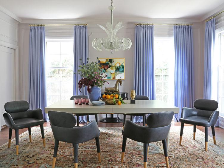 periwinkle dining room summer thornton