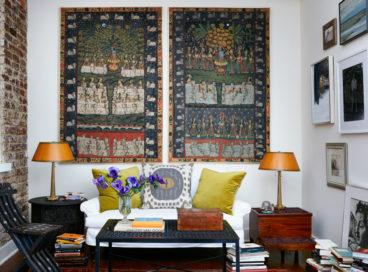 Trend Alert: Textile Wall Art