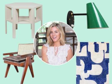 Designer Kristen Nix Surrounded by her Chairish Favorites