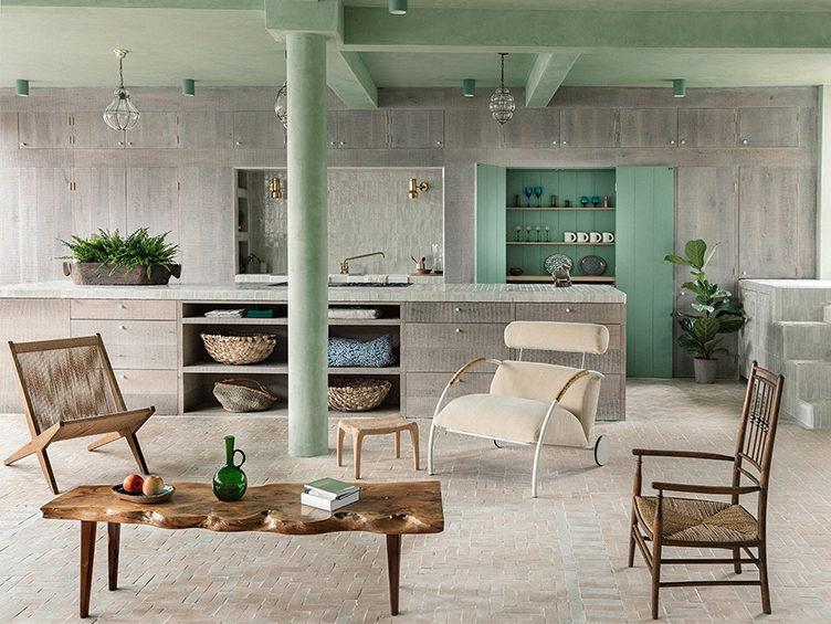 modern living room, neutral living room