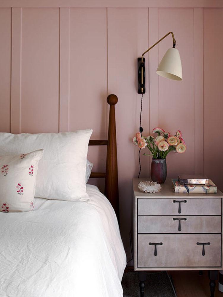pink bedroom, studio shamshiri bedroom