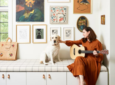 How a Blog Pro Tees Up Small Space Living