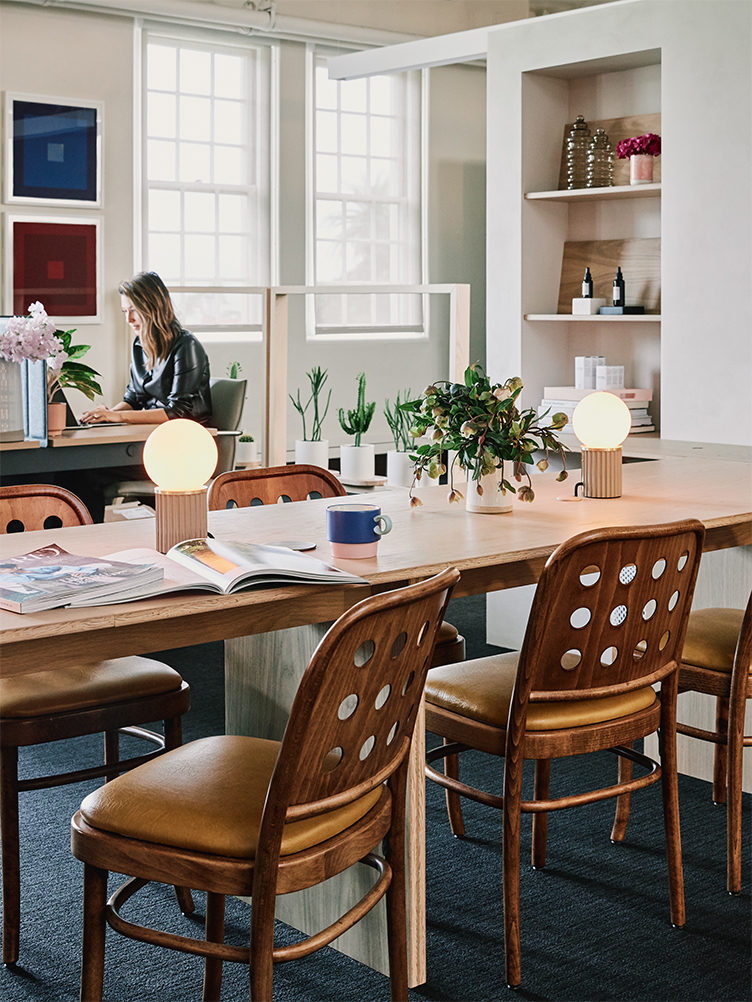 vintner's daughter office, inspiring office spaces