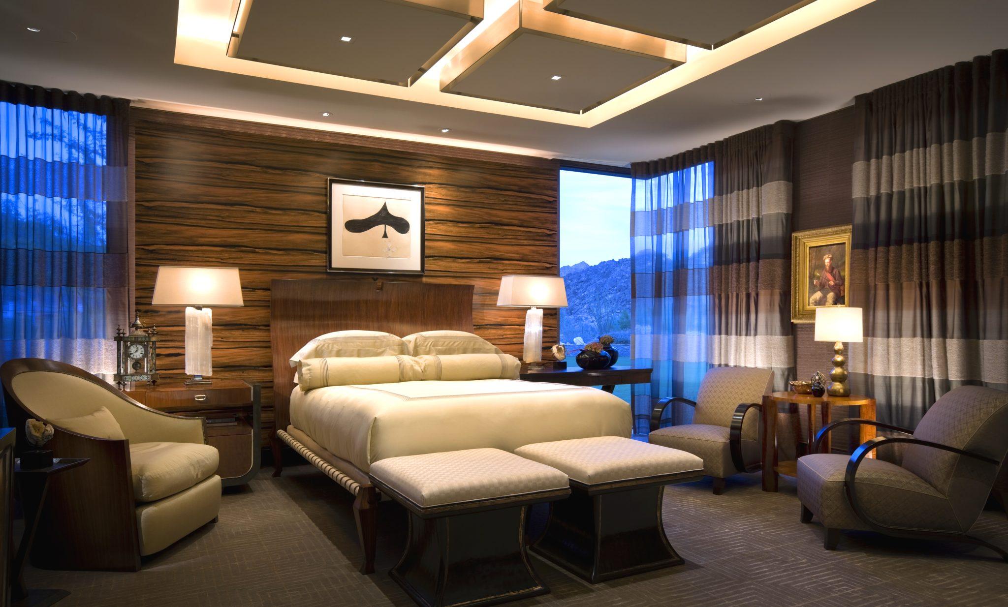 Desert Vogue - bedroom by Harte Brownlee & Associates
