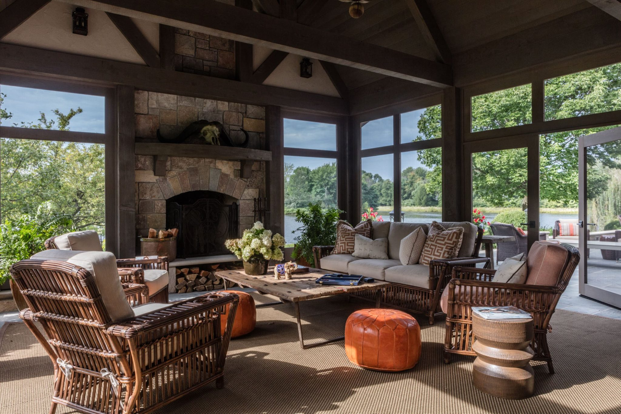 Midwestern Lakeside Tudor by Tom Stringer Design Partners