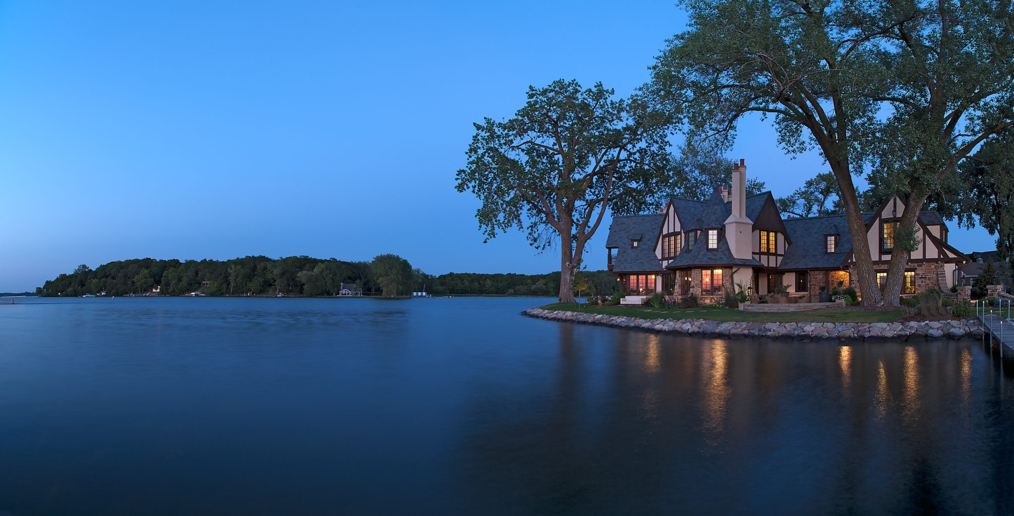 Tudor on the Point - Lake Minnetonka by Murphy & Co. Design