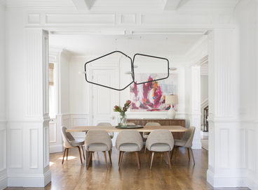 30 Dining Rooms with Wainscoting
